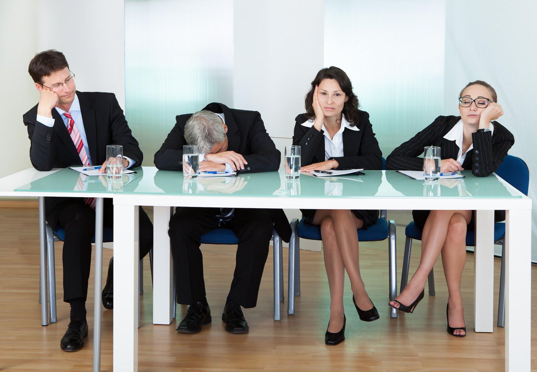 (VIDEO) Denk na voor je een vergadering organiseert